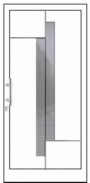 Schüco Aluminium Haustür Meru