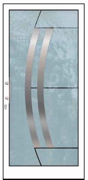 Aluminium Haustür Waterwings