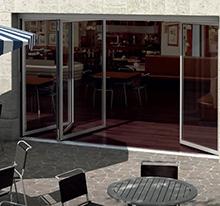 Falt-Schiebe-Fenster