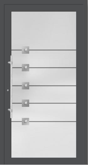 Aluminium Haustür 6216-07
