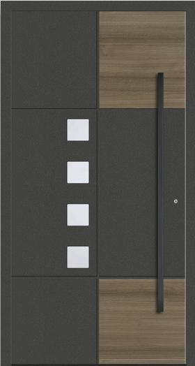 Schüco Aluminium Haustür 6795-58